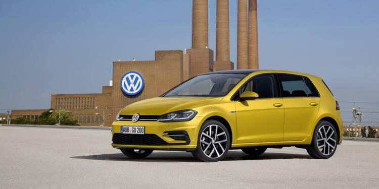 La Volkswagen Golf n'est plus le modèle le plus vendu en Europe