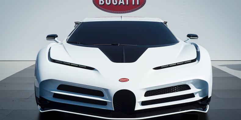 Cristiano Ronaldo se serait offert une Bugatti à 9 millions de dollars