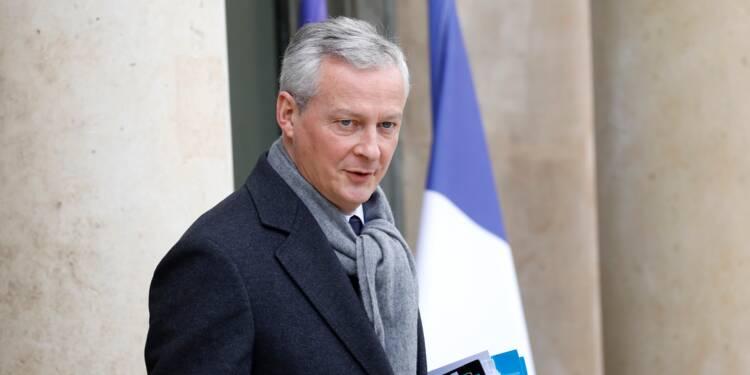 Pas de dividendes pour les entreprises en chômage partiel, préconise Bruno Le Maire