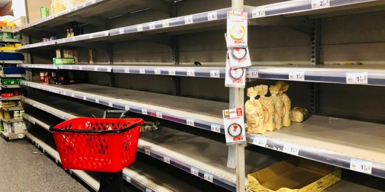 Pâtes, œufs, riz… ces biens alimentaires encore souvent absents des rayons des supermarchés