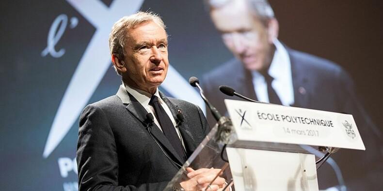LVMH s'envole en Bourse, retour à la croissance de la mode et maroquinerie et du cognac