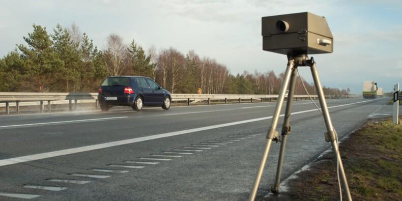 Les contrôles par radar mobile suspendus