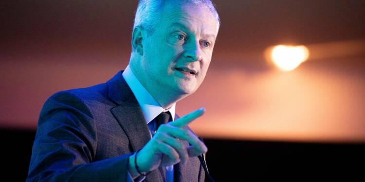 """Bruno Le Maire promet que l'État apportera """"les moyens"""" pour éviter  le """"naufrage"""" de l'économie"""