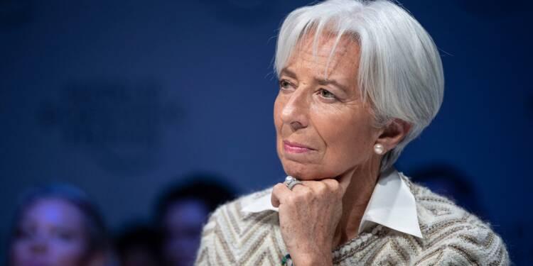 La pression grimpe à nouveau pour Christine Lagarde et la BCE