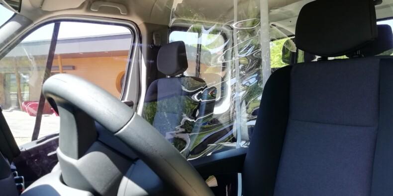 Coronavirus : Gruau lance une cloison pour protéger les passagers d'un même véhicule