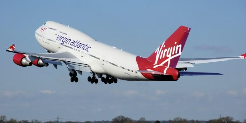 Virgin Atlantic renflouée par Richard Branson, qui vend des actions Virgin Galactic