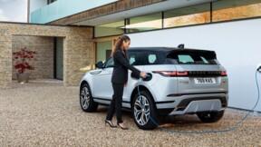 Range Rover Evoque P300e : maintenant en version hybride rechargeable
