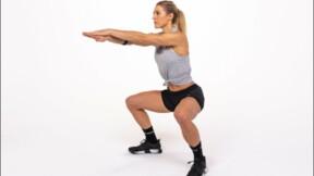 Un exercice de sport pour muscler les cuisses et les fessiers