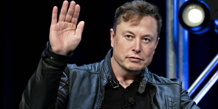 L'action Tesla plonge à Wall Street après des tweets d'Elon Musk