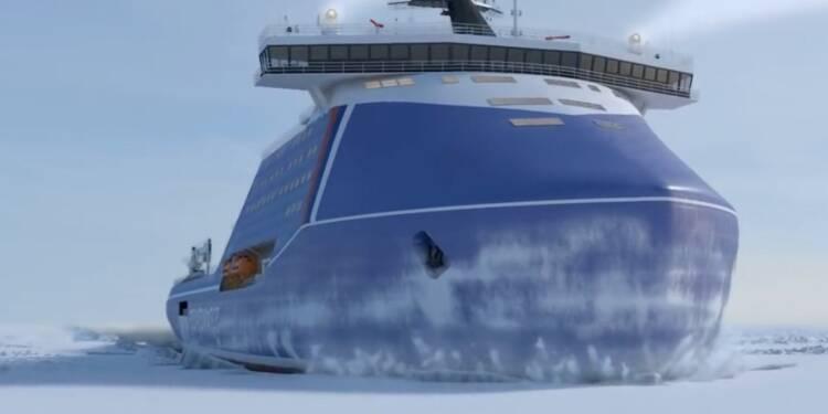 La Russie va construire le plus grand brise-glace nucléaire au monde