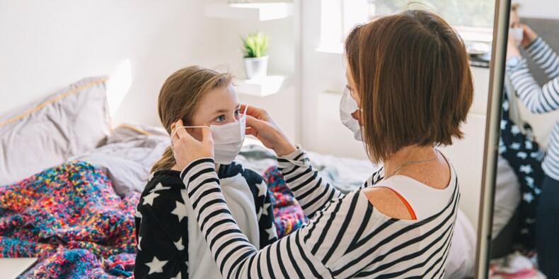 Pour une famille, les masques pourraient coûter plus de 100 euros par mois