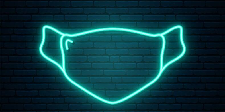 Des masques fluorescents pour détecter les personnes contaminées