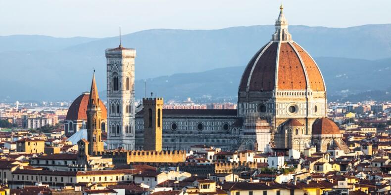 Le surprenant dispositif de distanciation physique mis en place à la cathédrale de Florence