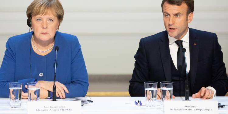 Emmanuel Macron et Angela Merkel proposent 500 milliards pour la relance