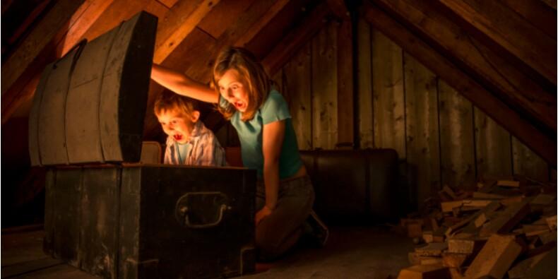Le fabuleux trésor découvert par deux enfants dans la maison familiale