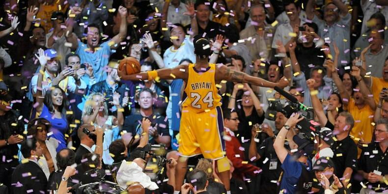 Énorme succès pour une vente d'objets souvenirs de Kobe Bryant