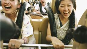 Dans les parcs d'attractions japonais, il faut désormais rester silencieux