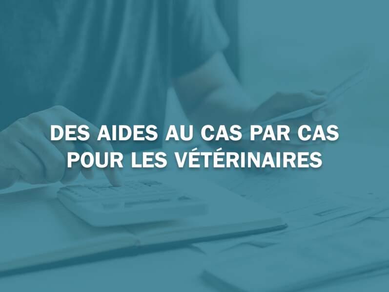 Des aides au cas par cas pour les vétérinaires