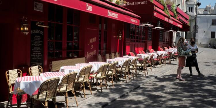 """""""La limite des terrasses n'est pas rentable"""" pour les bars, cafés et restaurants, alarme un syndicat"""