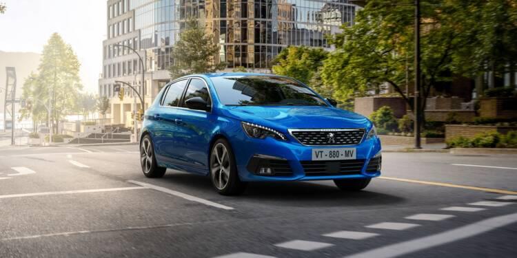 Peugeot 308 (2020) : pas d'hybride mais des compteurs numériques