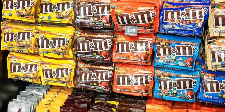 M&M's se lance dans les tablettes de chocolat