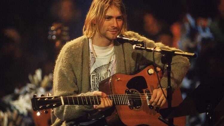 La folle somme payée par un chef d'entreprise pour la guitare légendaire de Kurt Cobain
