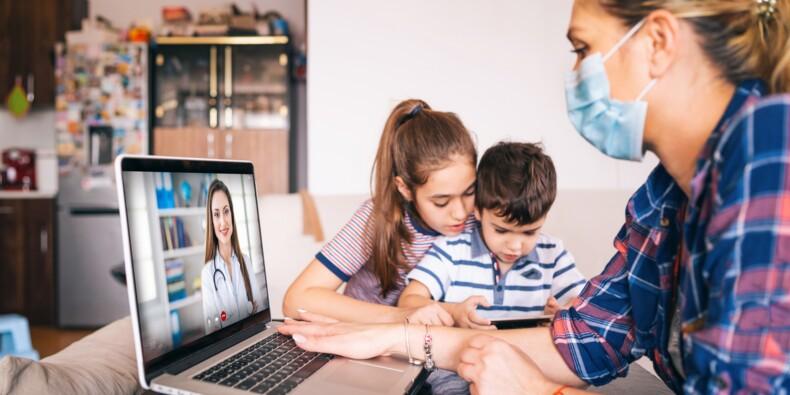Téléconsultations : le remboursement intégral de l'Assurance maladie  pourrait être prolongé jusqu'en décembre