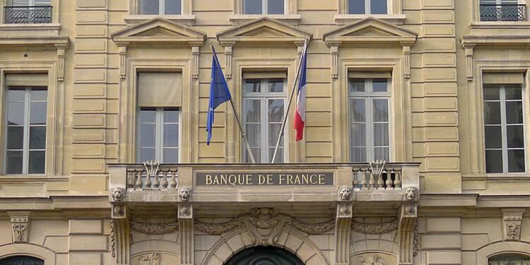 """Le PIB """"en légère hausse au 1er trimestre"""", selon la Banque de France"""