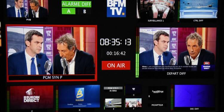 Les antennes de BFMTV perturbées par une grève contre des suppressions de postes