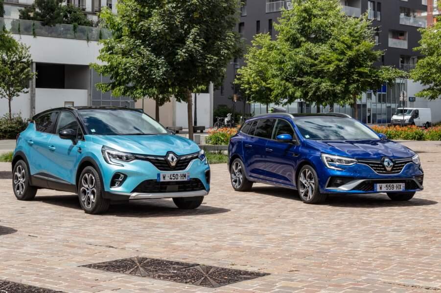 Renault Captur et Mégane E-Tech (hybrides rechargeables)