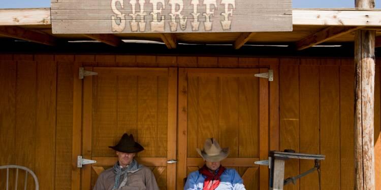 La réplique d'une ville du Far West en vente pour une fortune