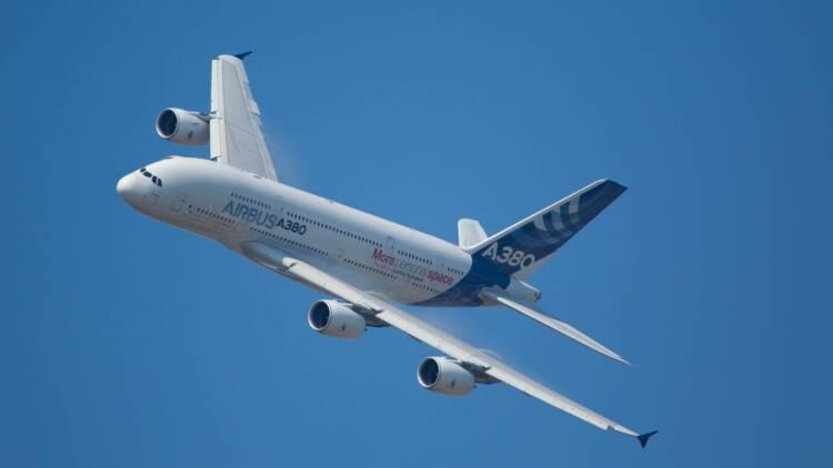 Airbus : études sur un avion à carburant 100% durable