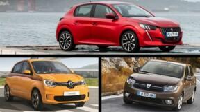 Les 10 voitures les plus vendues en juin en France