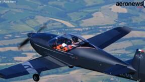 Voici l'Integral R, le nouvel avion de voltige français