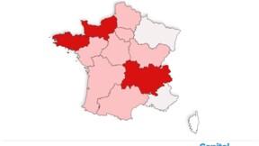 Taux de reproduction du Covid-19 : les derniers chiffres région par région