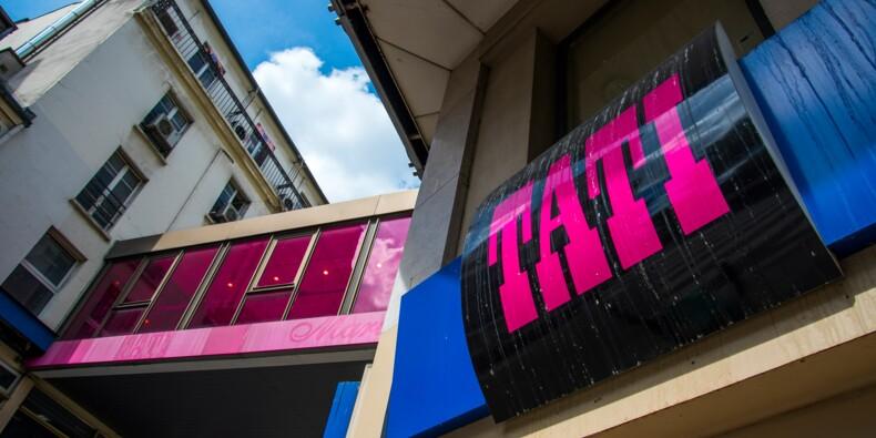 Rideau pour le dernier magasin Tati, achevé par la crise