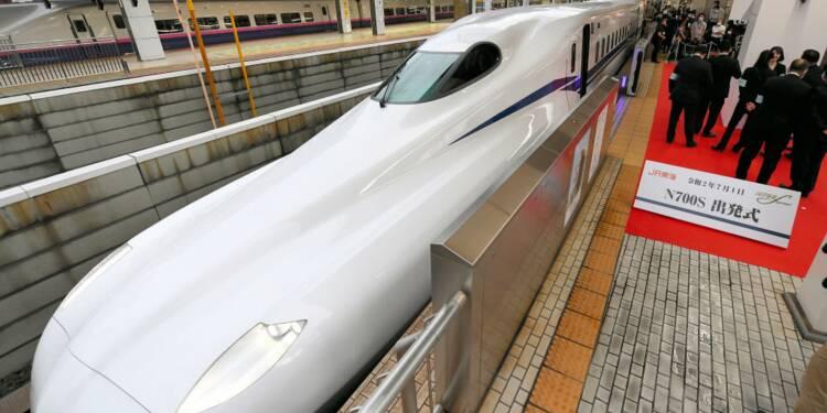 Au Japon, un nouveau train à grande vitesse fonctionne même en cas de tremblement de terre