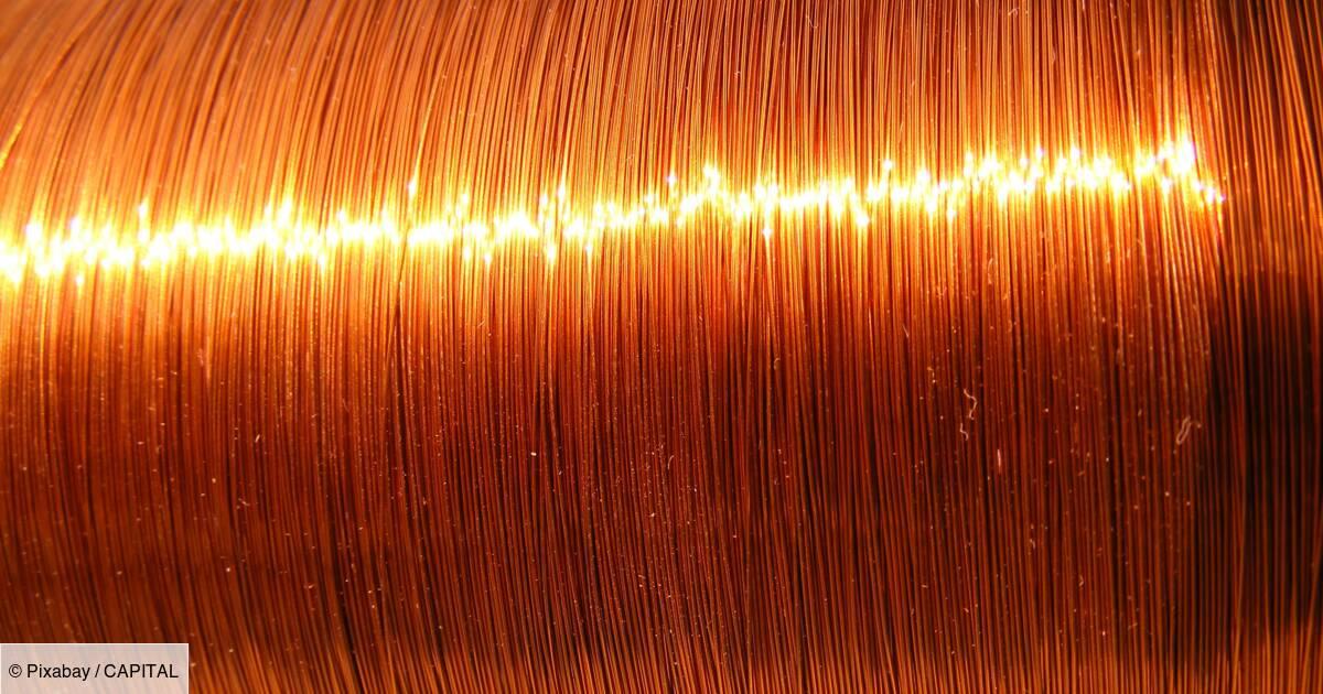Le cuivre pourrait bientôt s'envoler à 12.000 dollars la tonne, selon UBS