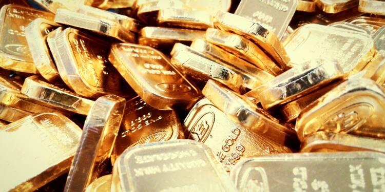 L'or à plus de 1.800 dollars, craintes sur la Bourse et tensions géopolitiques