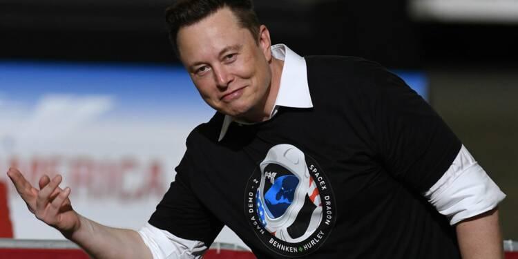 Comment la fortune d'Elon Musk a bondi de 2,1 milliards de dollars