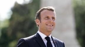 L'improbable cadeau fait à Emmanuel Macron