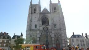 Incendie de la cathédrale de Nantes : la fondation du patrimoine a déjà lancé une cagnotte