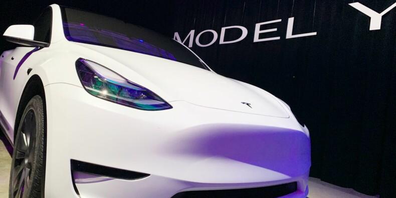 Tesla propose déjà le Model Y à la location