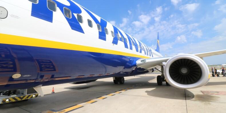 Ryanair a subi un effondrement du trafic en novembre