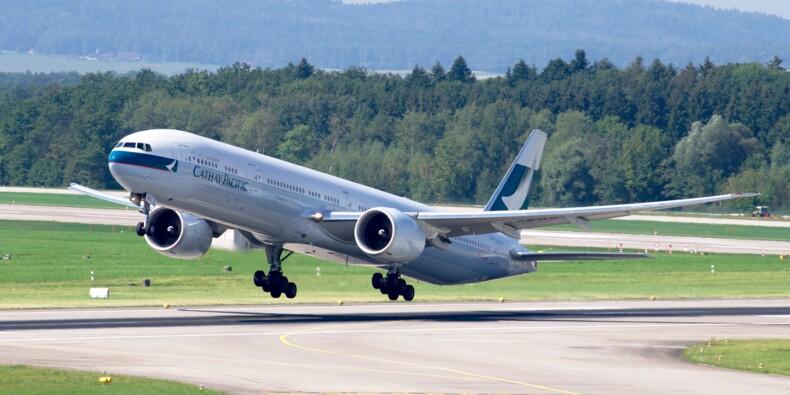 Boeing : Cathay Pacific risque de reporter des commandes de 777