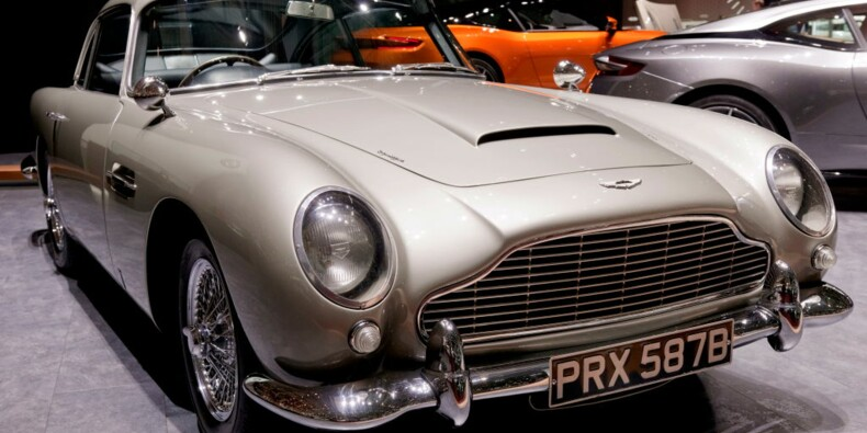 Aston Martin va redémarrer la production de la mythique DB5 de James Bond