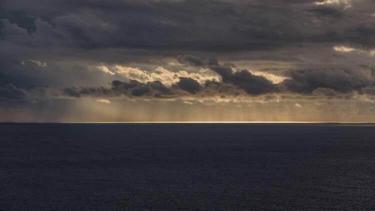 Pollution en Méditerranée au large de Marseille