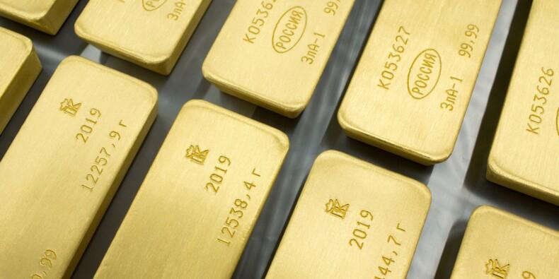L'or proche de son record, dopé par les tensions Chine - Etats-Unis