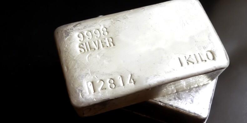L'argent au plus haut depuis 2013, dans le sillage de l'or