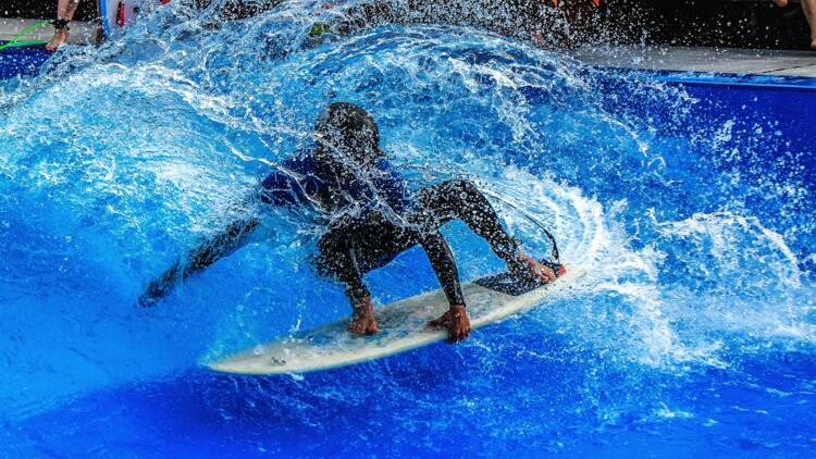 Un projet de piscine à vagues artificielles à Saint-Jean-de-Luz... à 1,5 km de l'océan